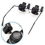 20X Magnifier Eye Loupe Lens Jewellery Watch Repair LED Licht_