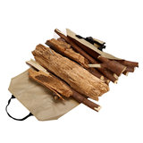 600D Oxford Draagbare Brandhout Drager Houder Hout Opslag Canvas Draagtas Outdoor Camping Accessoires_