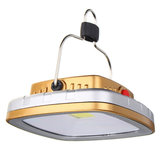 Draagbare 3W 300LM COB LED zonne-lantaarn USB oplaadbare Camping Tent licht noodverlichting_