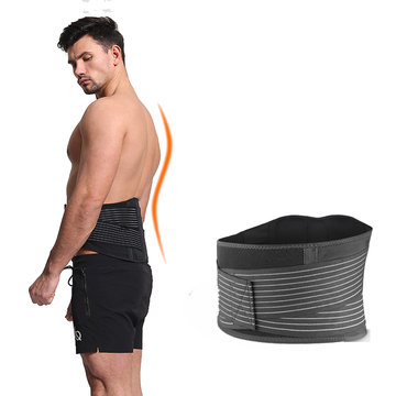 1 ST AOLIKES Taille Ondersteuning Verstelbare Gewichtheffen Taille Riem Sport Fitness Gym Taille Protector
