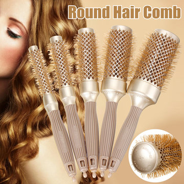 Roller Hair Comb Hair Brush Round Comb DIY Hairstyle Salon