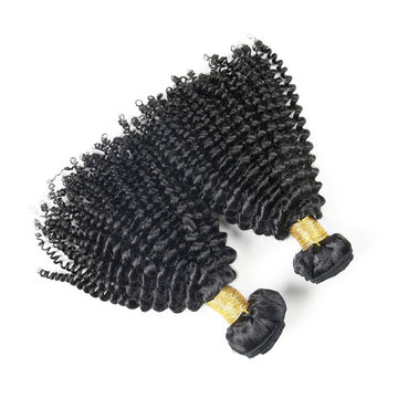 6A Grade Brazilian Virgin Unprocessed Kinky Curly 100% Real Human Hair Extension