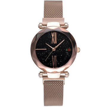 Fashion Star Magnetic Milanese stalen band dames quartz horloge
