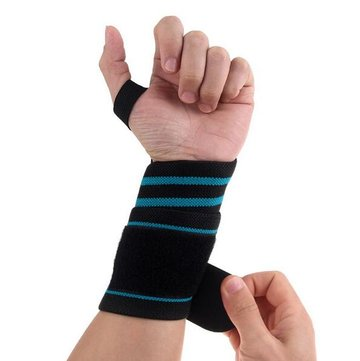 Weight Lifting Wristband Silicon Ademende Sport Wrist Support Fitness Bandage Hand Protective