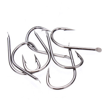 ZANLURE High-carbon Black Tungsten Steel Fishing Hooks Bevestigingshaken