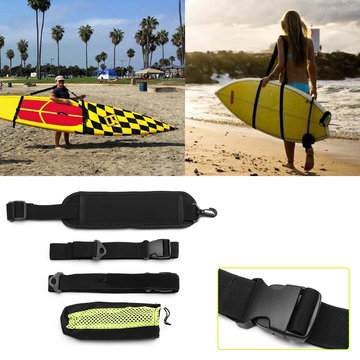 236cm SUP Surfboard Schouderriem Stand Up Paddle Board Carrier Sling Strap