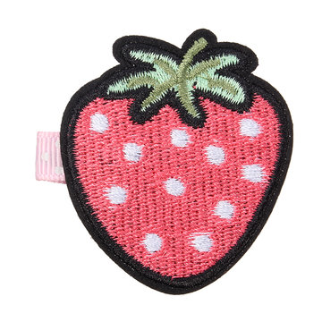 Cute Embroidery Fruit Lovely Girls Haarspeld