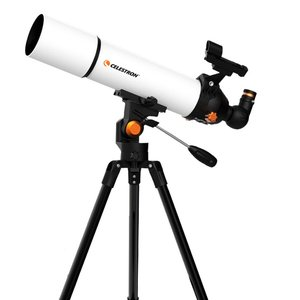 CELESTRON SCTW-80 200X HD Zoom Refractive Astronomical Telescope 80mm Caliber Red Dot Finder High Magnification Space Monocular